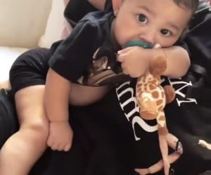 cute baby, kylie jenner, and baby stormi image