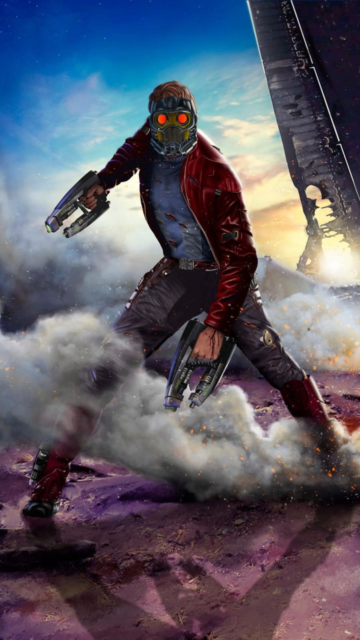 Star Lord Wallpaper Uploaded By Angel Of Darkness