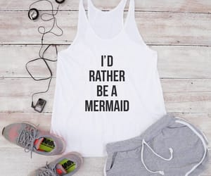design, mermaid, and women fashion image