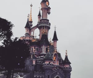 castle, chateau, and disney image