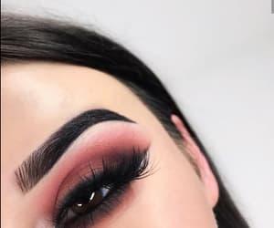 beautiful, eye, and eyebrows image