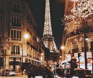 paris, lights, and love image
