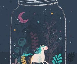 unicorn, magic, and wallpaper image