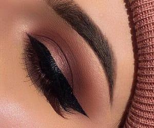 beautiful, eye shadow, and eyelashes image