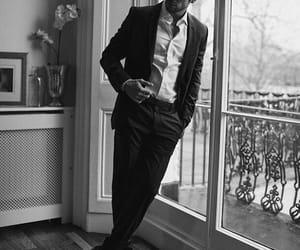 aesthetic, black&white, and boy image
