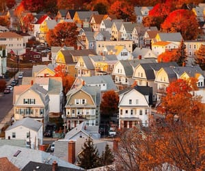 autumn, autumnal, and boston image
