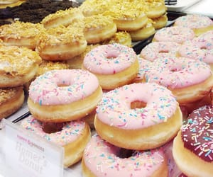donuts, sprinkles, and homers donuts image
