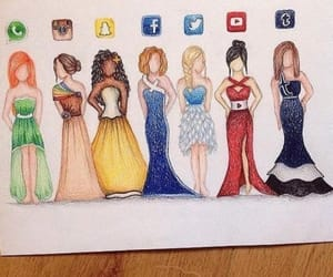 draw and social media image