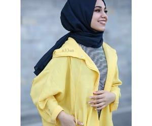 beautiful, girls, and hijab fashion image
