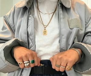 fashion, rings, and clothes image