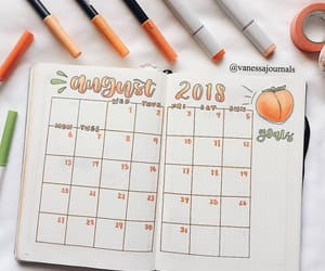 art, autumn, and bullet journal image