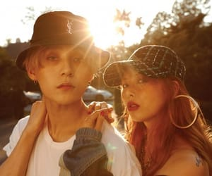 hyuna, edawn, and kpop image