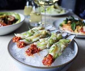 cucumber, food, and meal image