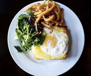 egg, food, and French Fries image