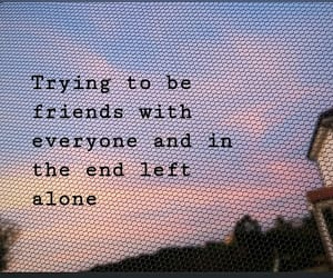 quote, sunset, and fake friends image