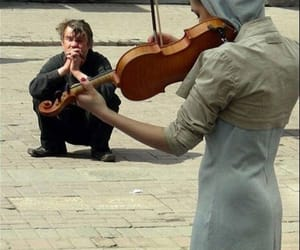 music, lovely, and violin image