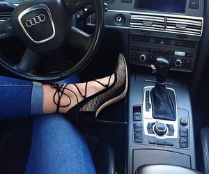 audi, shoes, and car image