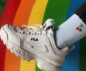 rainbow and Fila image