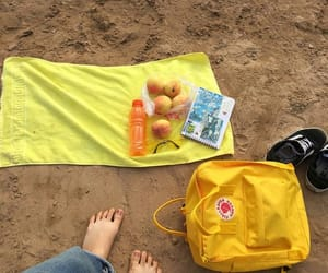 beach, picnic, and relax image