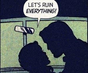 alternative, passion, and comic book image