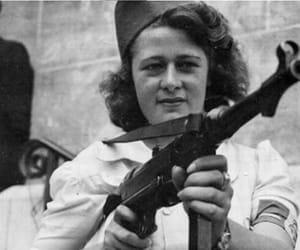 badass, feminism, and world war 2 image