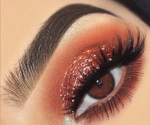 beautiful, eyes, and make-up image