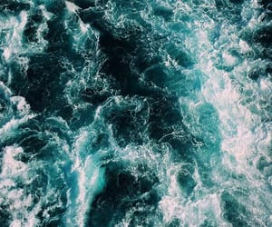 wallpaper, ocean, and blue image
