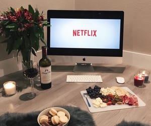 netflix, food, and wine image