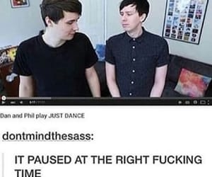 dan, fandom, and phil image