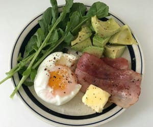 avocado, bacon, and diet image