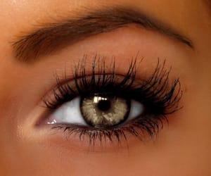 3d, eye, and eyelashes image