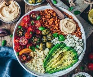 healthy, vegan, and vegetarian image