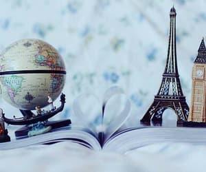 paris, world, and book image