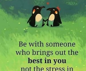 love, quotes, and penguin image