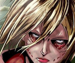 shingeki no kyojin, annie leonhardt, and attack on titan image