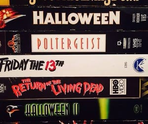 friday the 13th, Night of the Living Dead, and poltergeist image