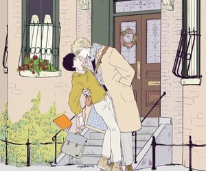 ash, eiji, and love image
