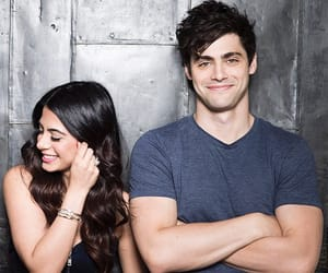 Emeraude Toubia and Matthew Daddario