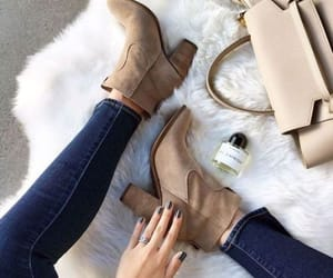 ankle boots, boots, and suede booties image