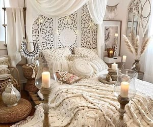 bedroom, girly, and house image