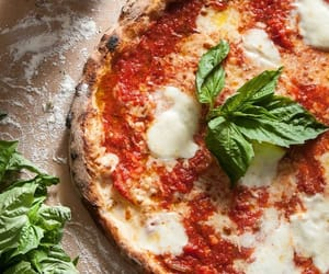 food, foods, and mozarella image