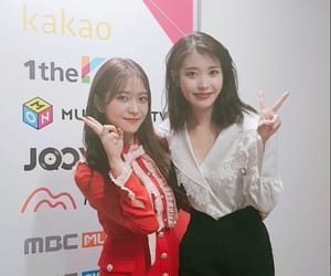 iu, yeri, and red velvet image