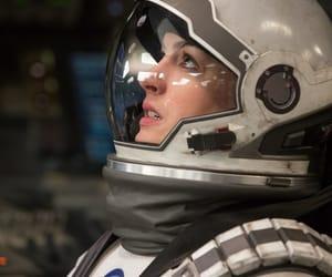 Anne Hathaway, nasa, and interstellar image