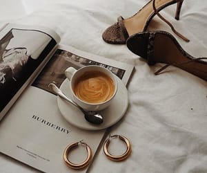coffee, shoes, and style image