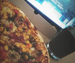 coke, film, and pizza image