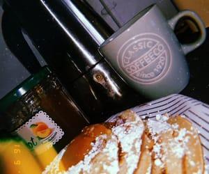 coffee, food, and pancakes image