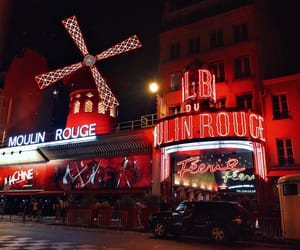 france, moulin rouge, and paris image