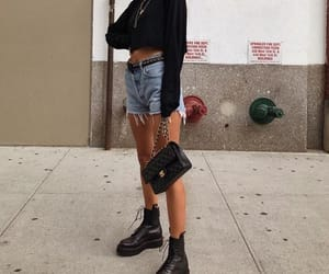 boots, casual, and chanel image