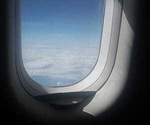 air, holiday, and flight image