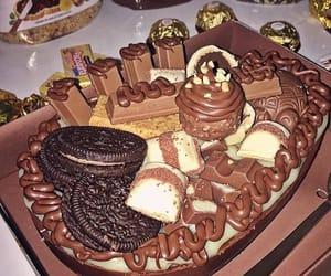 brown, ferrero rocher, and nutella image